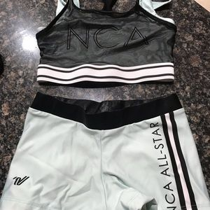 NCA cheer workout outfit YM